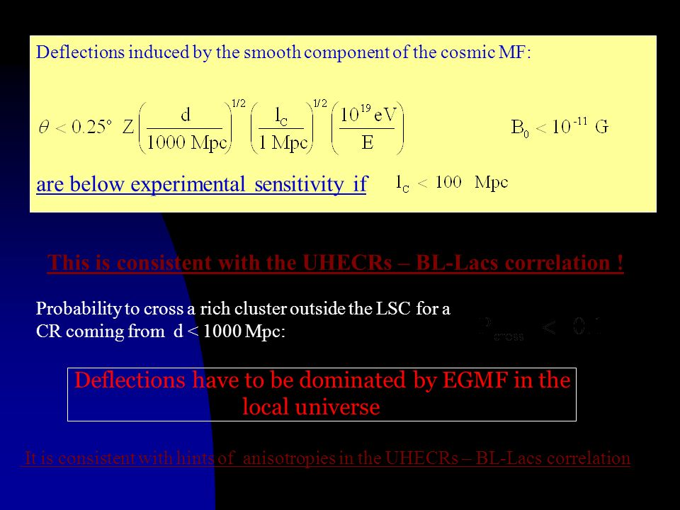 are below experimental sensitivity if