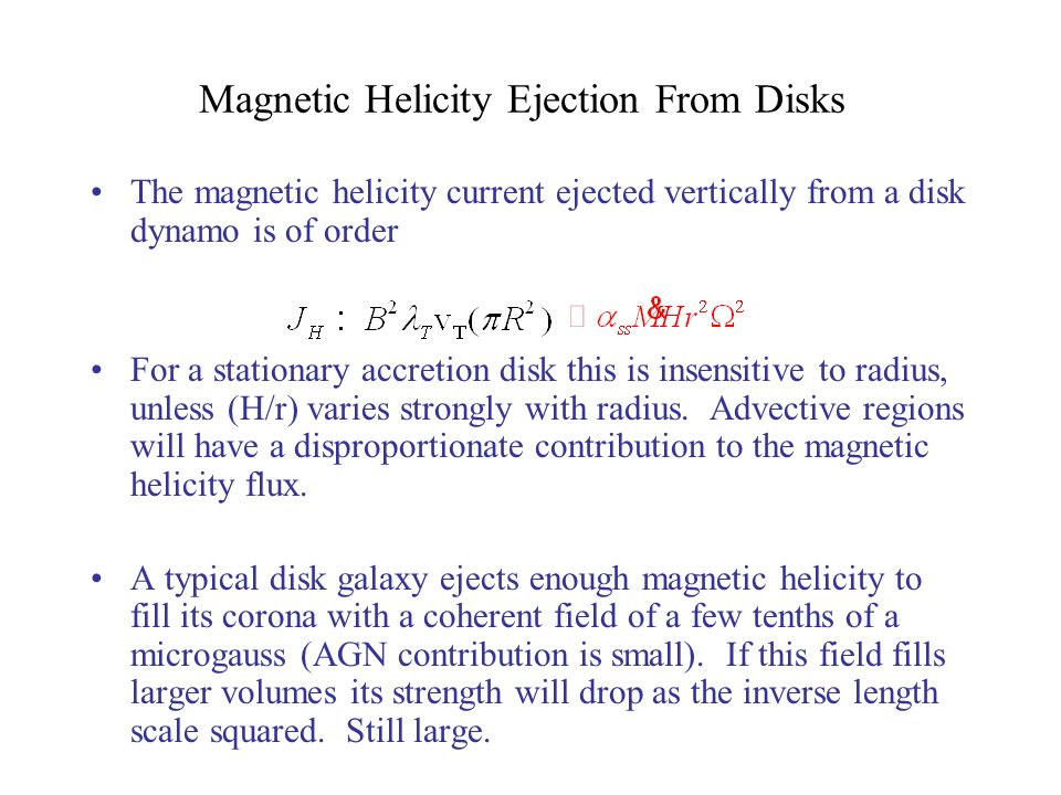 Magnetic Helicity Ejection From Disks