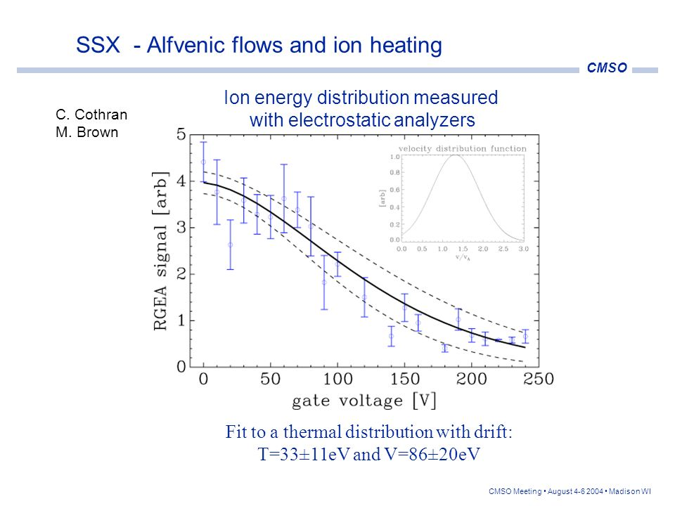 SSX - Alfvenic flows and ion heating