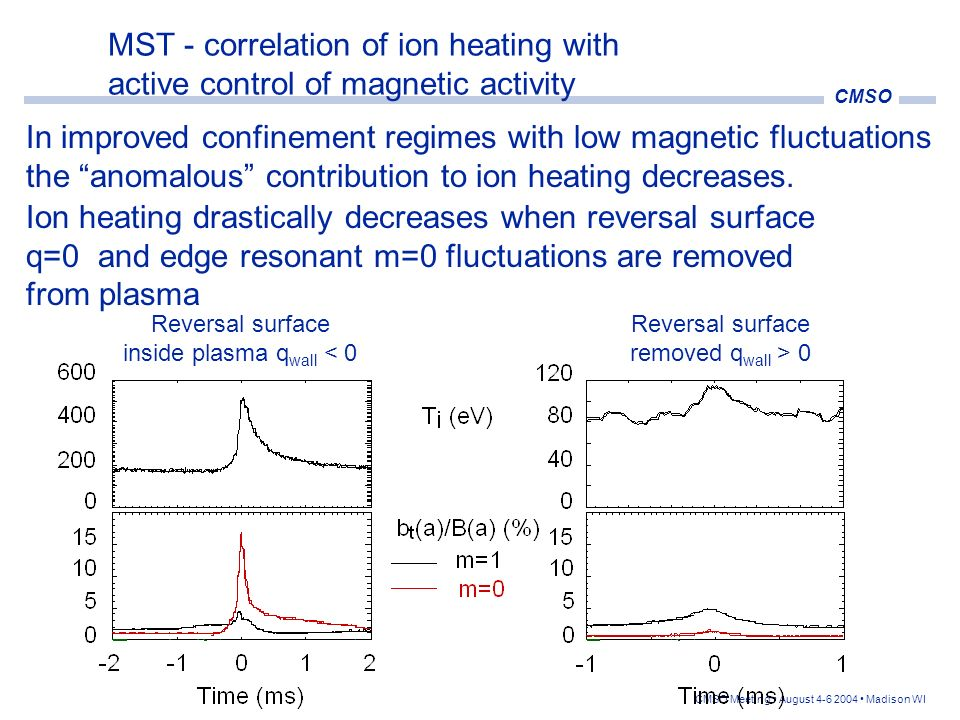 In improved confinement regimes with low magnetic fluctuations