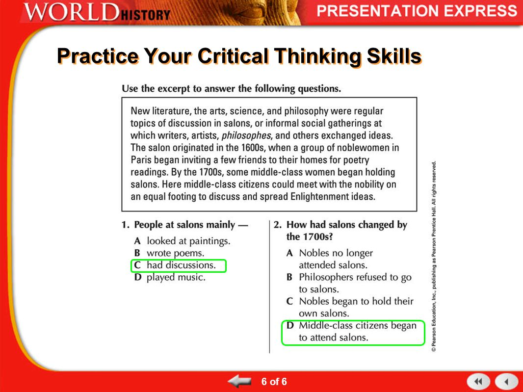 Test your critical thinking skills