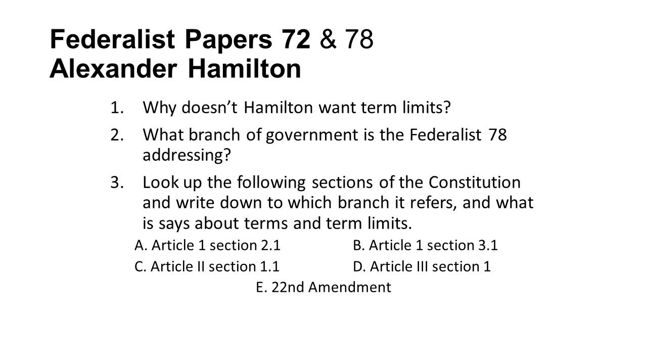 federalist papers term limits congress Federalist papers term limits congress » business essay writing service buy essays online cheap essay writing service review • research papers website.