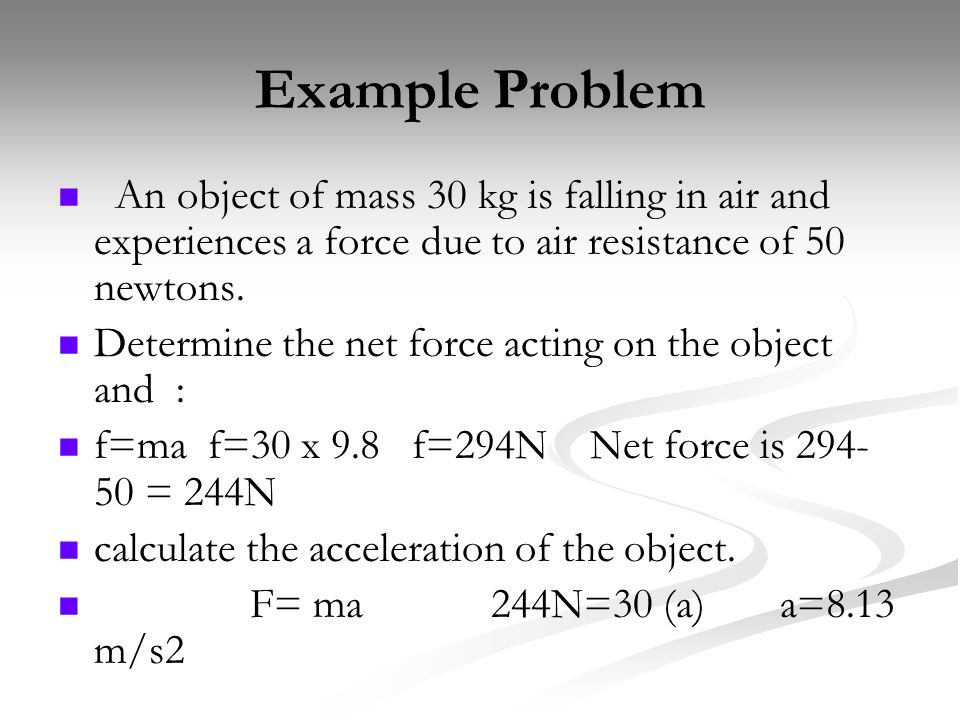 how to change the mass of an object