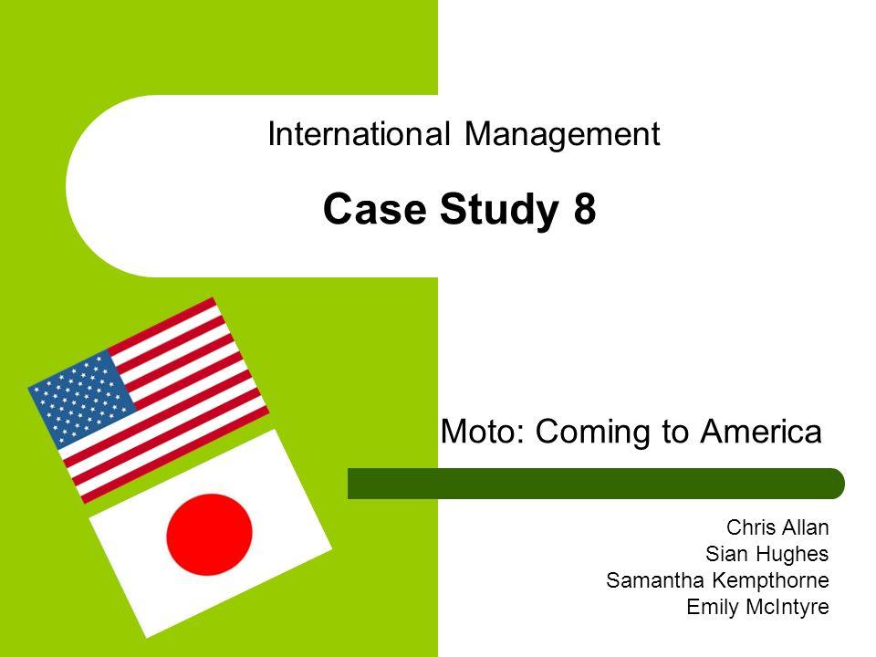 Moto: Coming to America