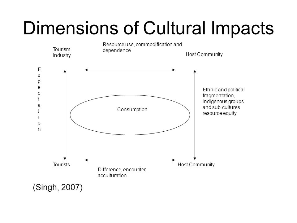 Dimensions of Cultural Impacts