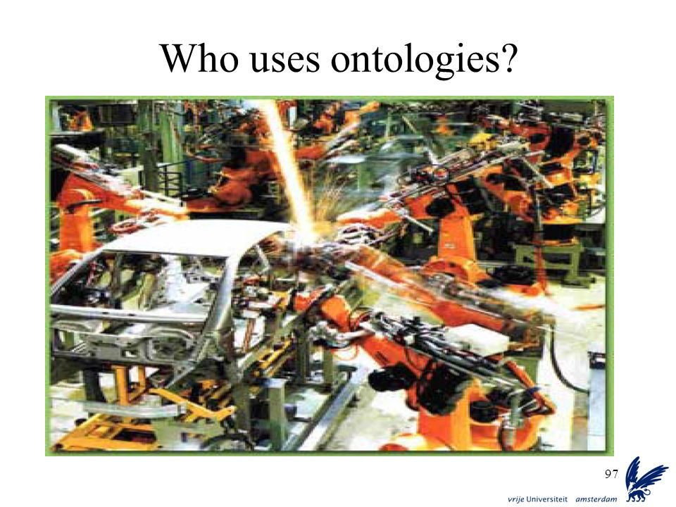 Who uses ontologies