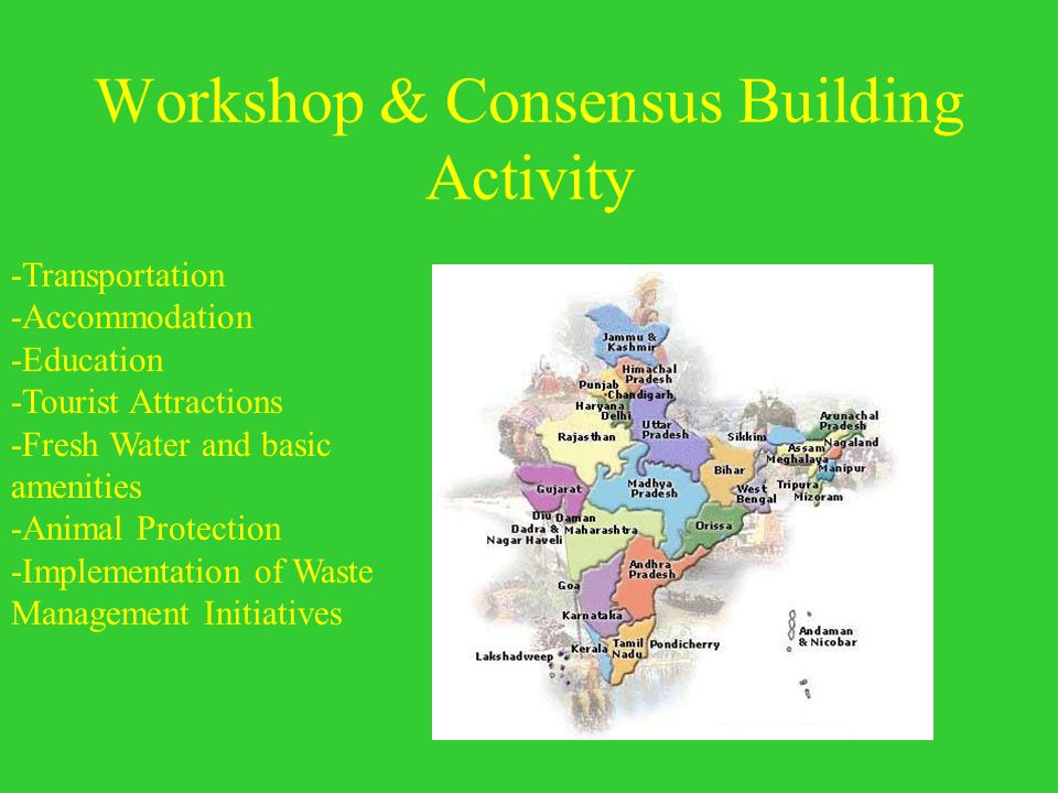 Workshop & Consensus Building Activity