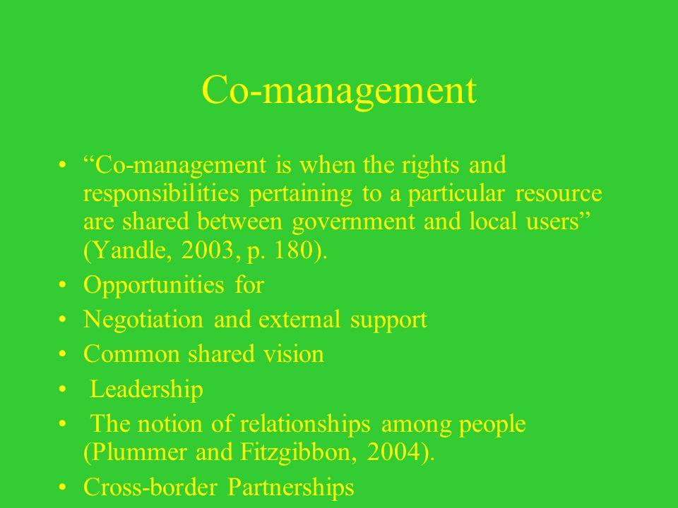 Co-management