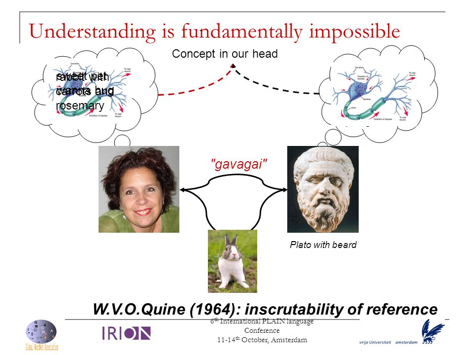 Understanding is fundamentally impossible