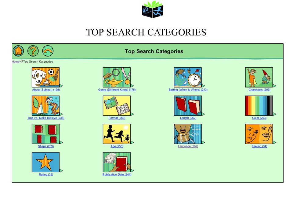 TOP SEARCH CATEGORIES