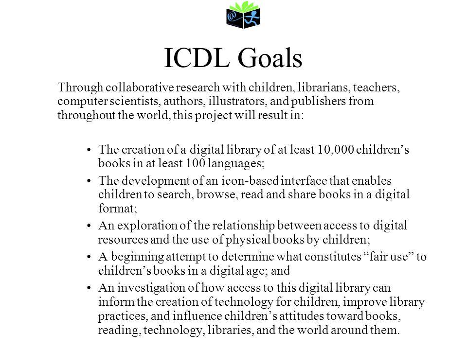 ICDL Goals
