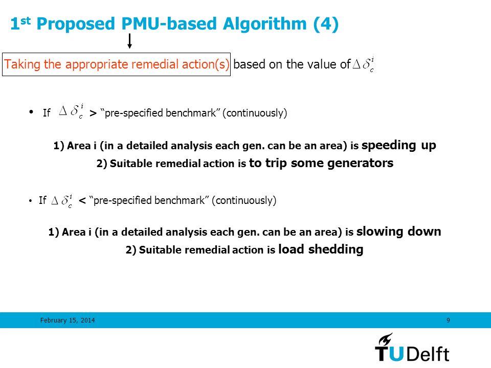 1st Proposed PMU-based Algorithm (4)