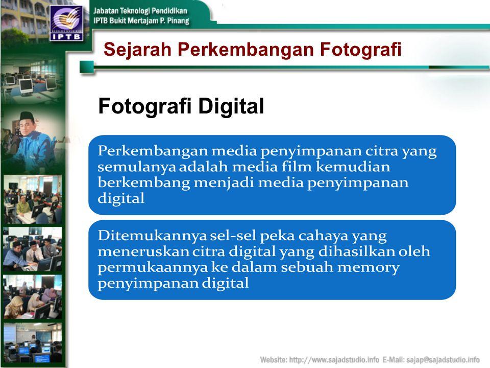 Sejarah Perkembangan Fotografi