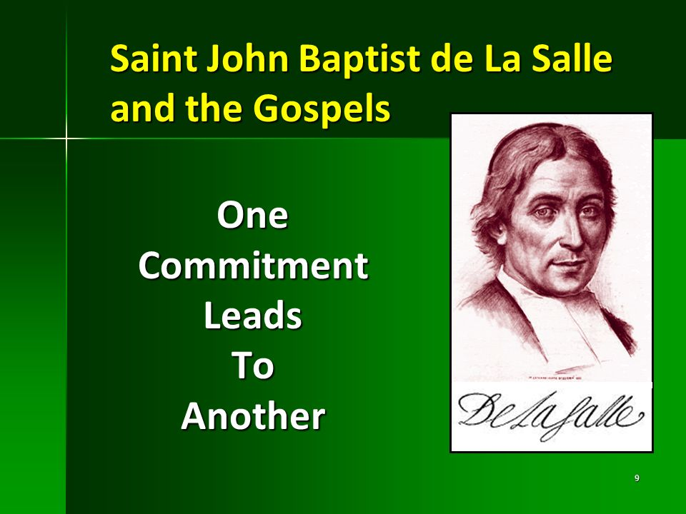 Saint John Baptist de La Salle and the Gospels