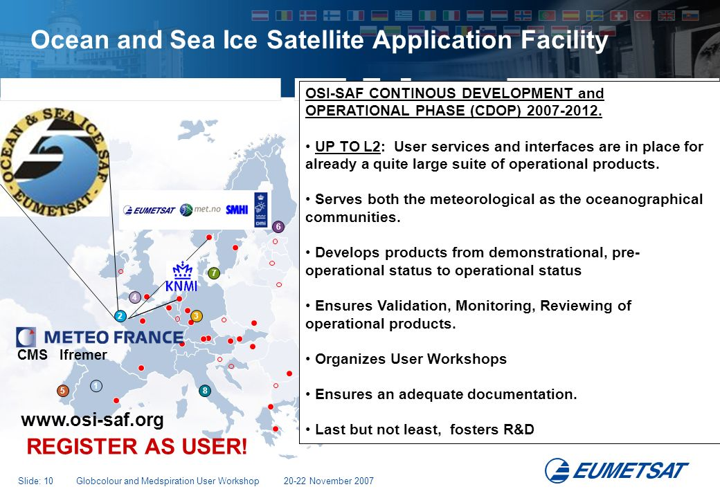 Ocean and Sea Ice Satellite Application Facility