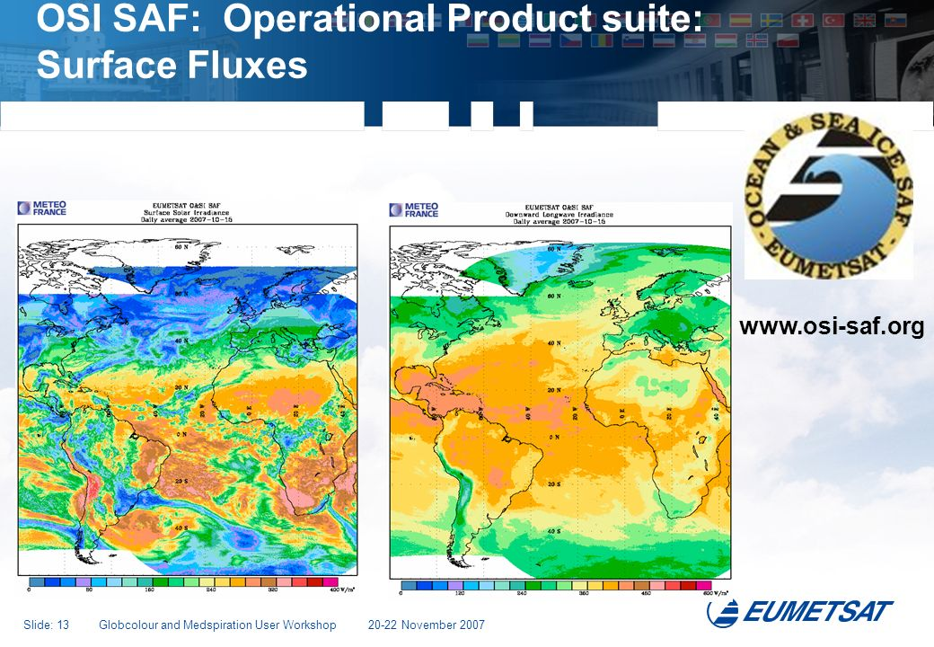 OSI SAF: Operational Product suite: Surface Fluxes