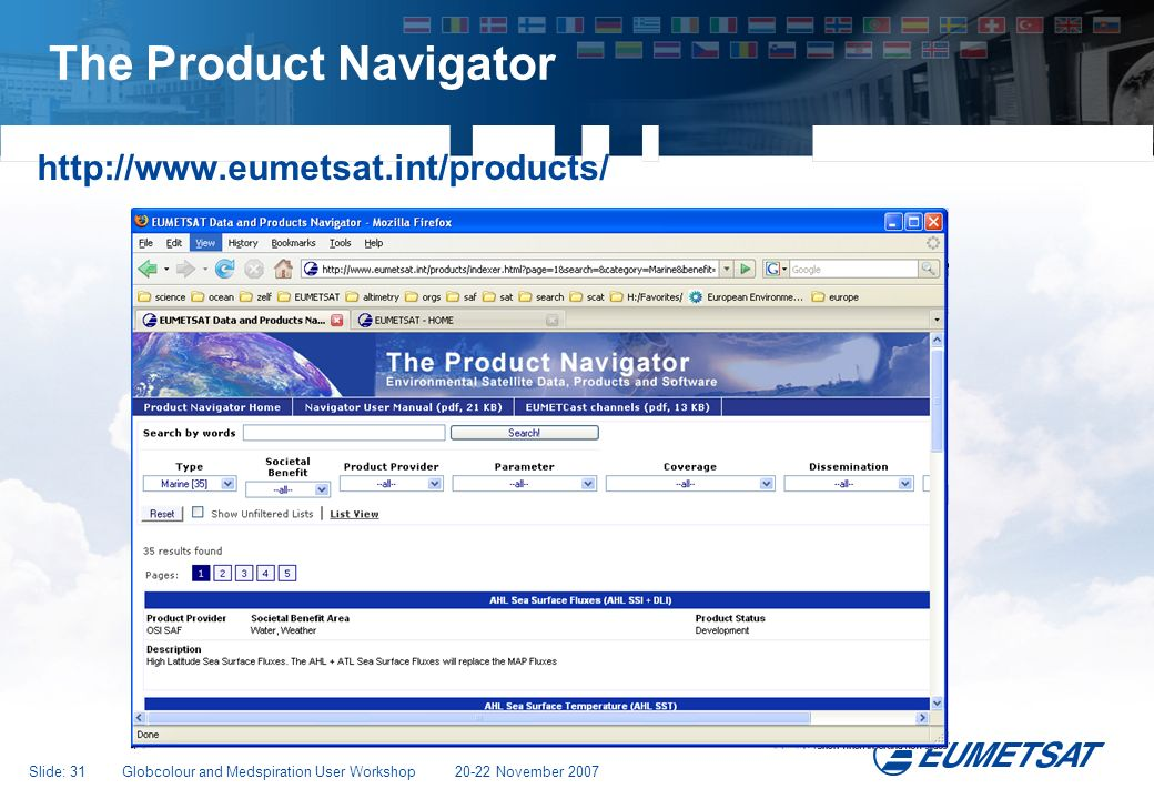 The Product Navigator