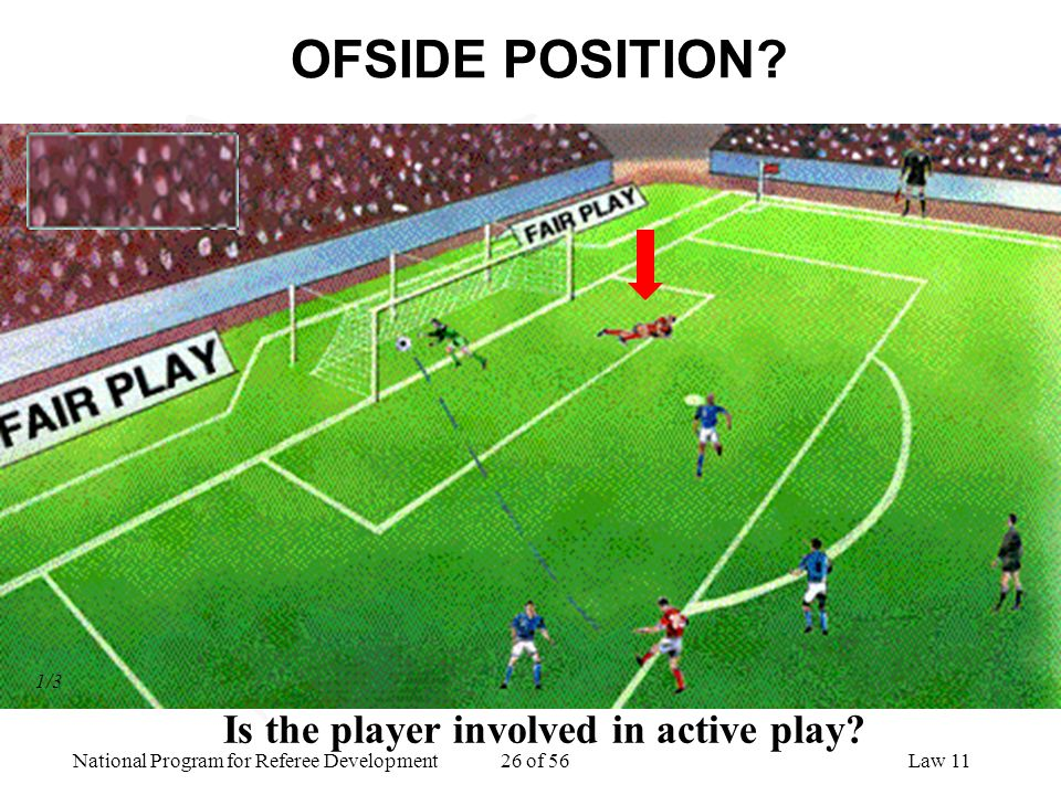 Is the player involved in active play