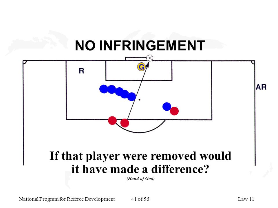 If that player were removed would it have made a difference