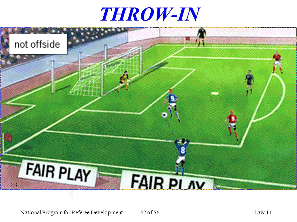 THROW-IN 3/3