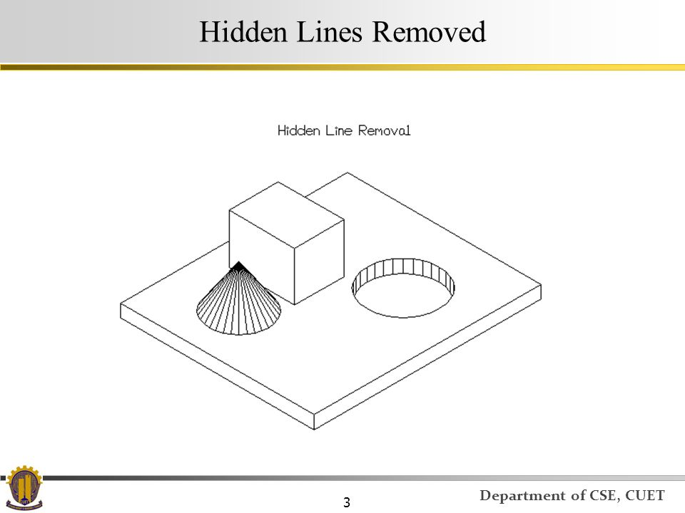 Hidden Lines Removed