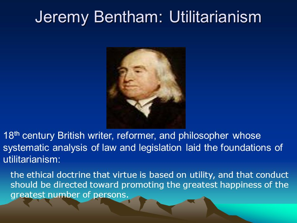 Utilitarianism and Happiness