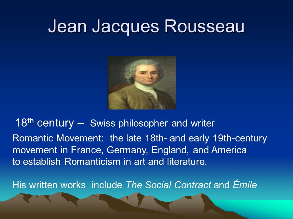 lord of the flies philosophies of good and evil ppt video  jean jacques rousseau 18th century swiss philosopher and writer