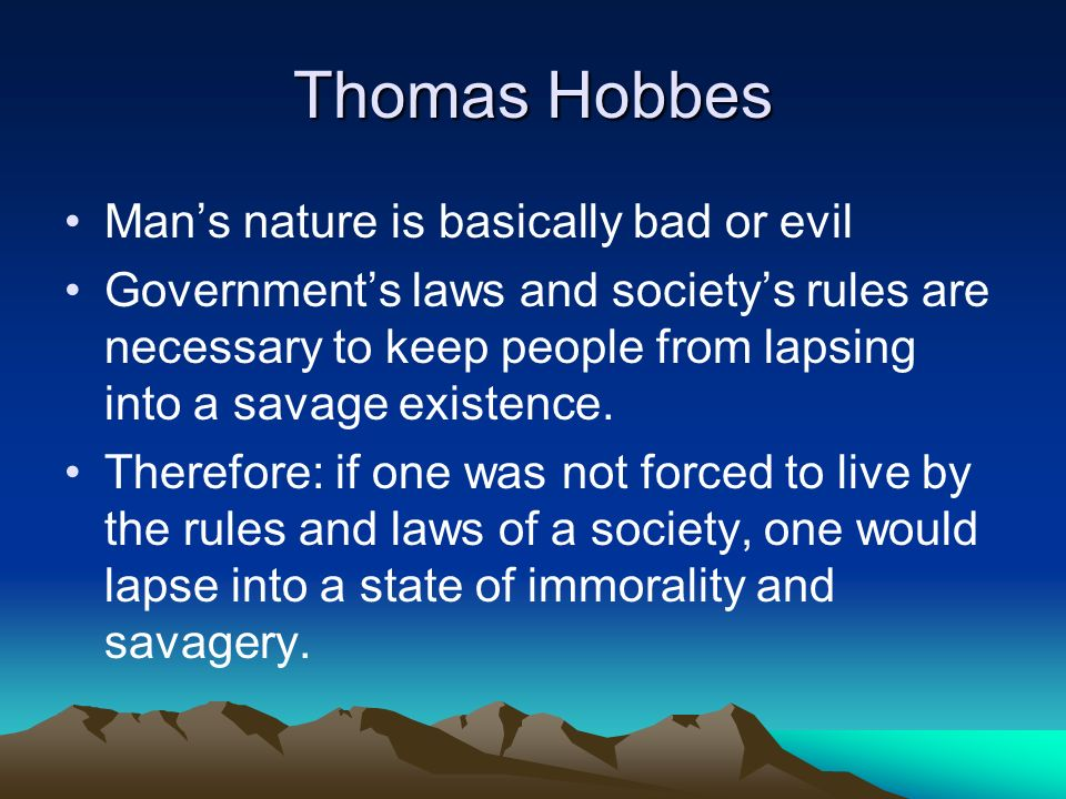 the views of hobbes leviathan in the lord of the flies Description: this document is an excerpt from thomas hobbes' leviathan students read the excerpt and looked for evidence of the philosopher's perspective on human.