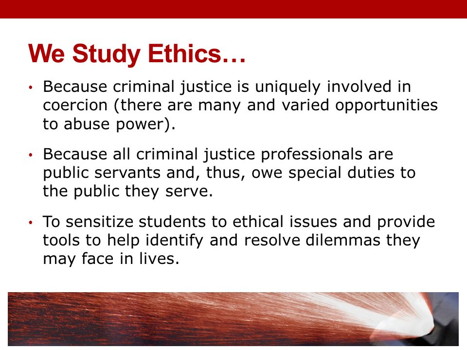 ethics in the criminal justice profession essay Ethics is an easy word to throw around and yet very hard to define  criminal justice ethics for everyone tweet:  criminal justice career paths.