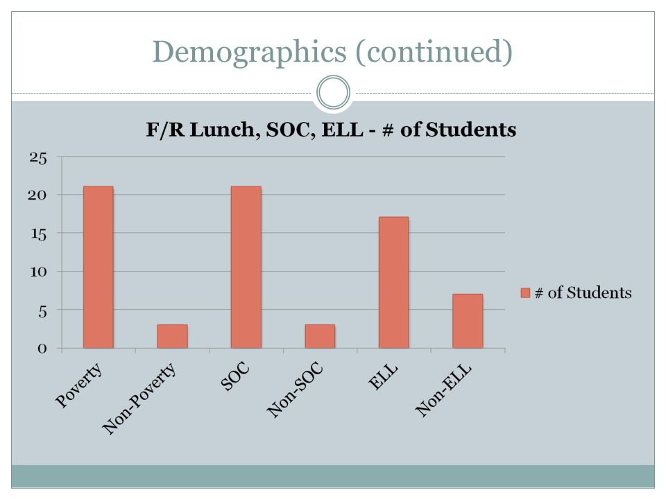 Demographics (continued)