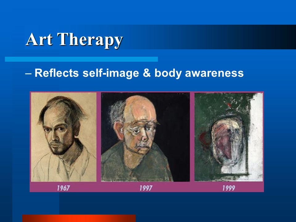 Art Therapy Reflects self-image & body awareness