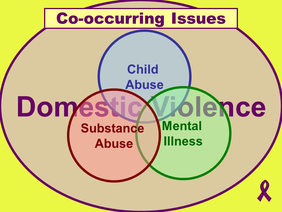 Domestic Violence Co-occurring Issues Child Abuse Mental Substance