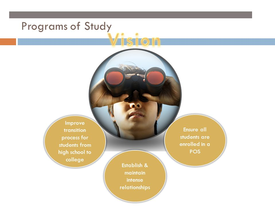 Vision Programs of Study