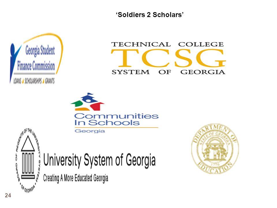 'Soldiers 2 Scholars'