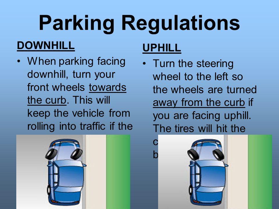 Manual Car Parking Downhill
