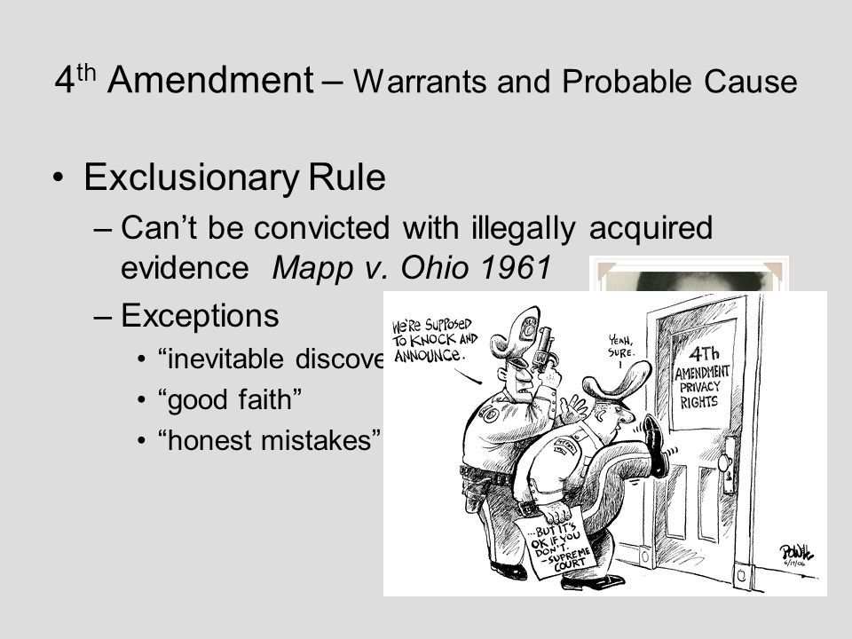 4th amendmant and probable cause 4th amendment attack outline by ronniej_24 in types  school work, crim pro, and law school  and no warrants shall issue, but upon probable cause, supported by oath or affirmation, and particularly describing the place to be searched, and the  documents similar to the fourth amendment outline first amendment outline uploaded by.