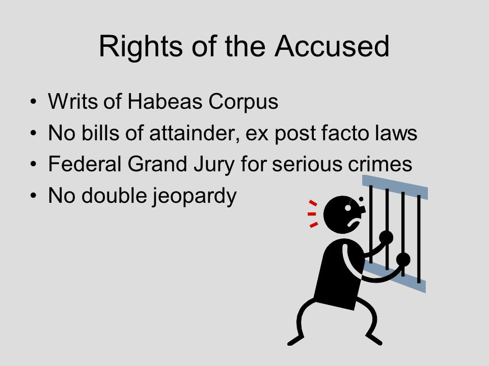 the right of habeas corpus in There's no constitutional right to an attorney in habeas corpus proceedings however, counsel is required by court rules during an investigation or an evidence hearing.