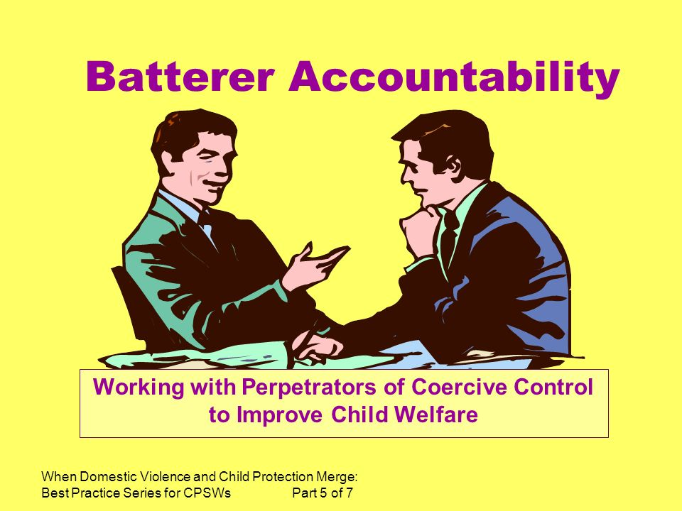 Batterer Accountability