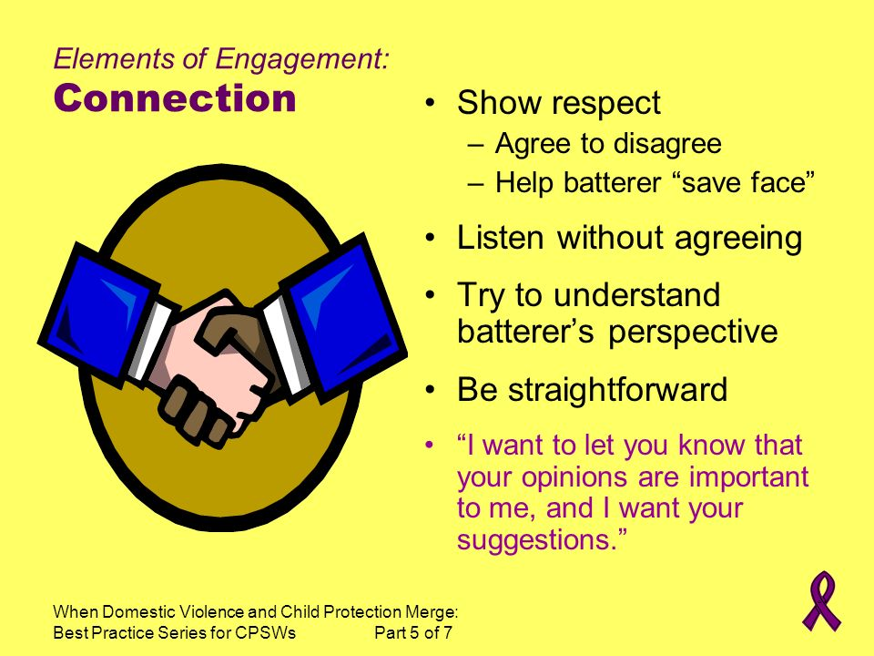 Elements of Engagement: Connection