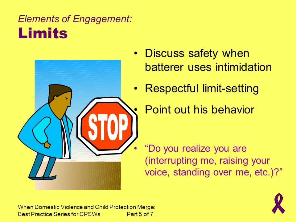 Elements of Engagement: Limits