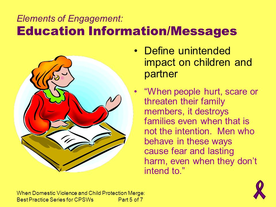 Elements of Engagement: Education Information/Messages