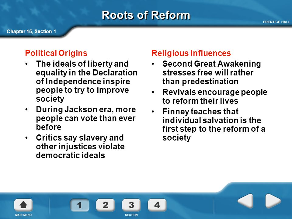 reform democratic ideals 1825 1860 Reform movements in the united states sought to expand democratic ideals assess (evaluate, judge or appraise) the validity (strength or soundness) of this statement with specific reference to the years 1825 to •age of reform 1820 to 1860.