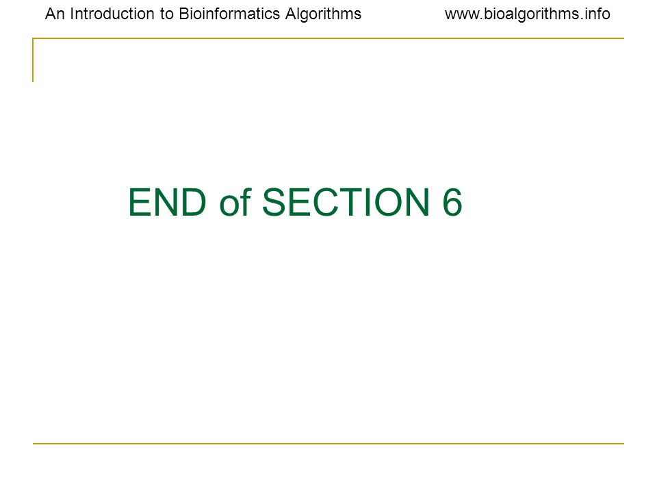 END of SECTION 6