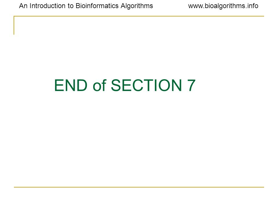 END of SECTION 7