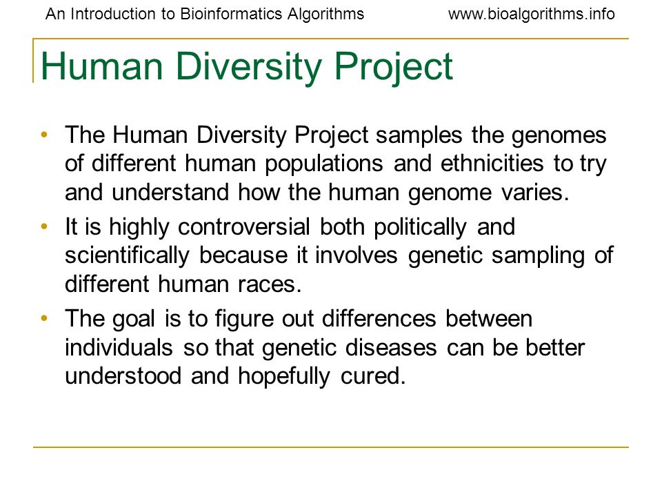 Human Diversity Project