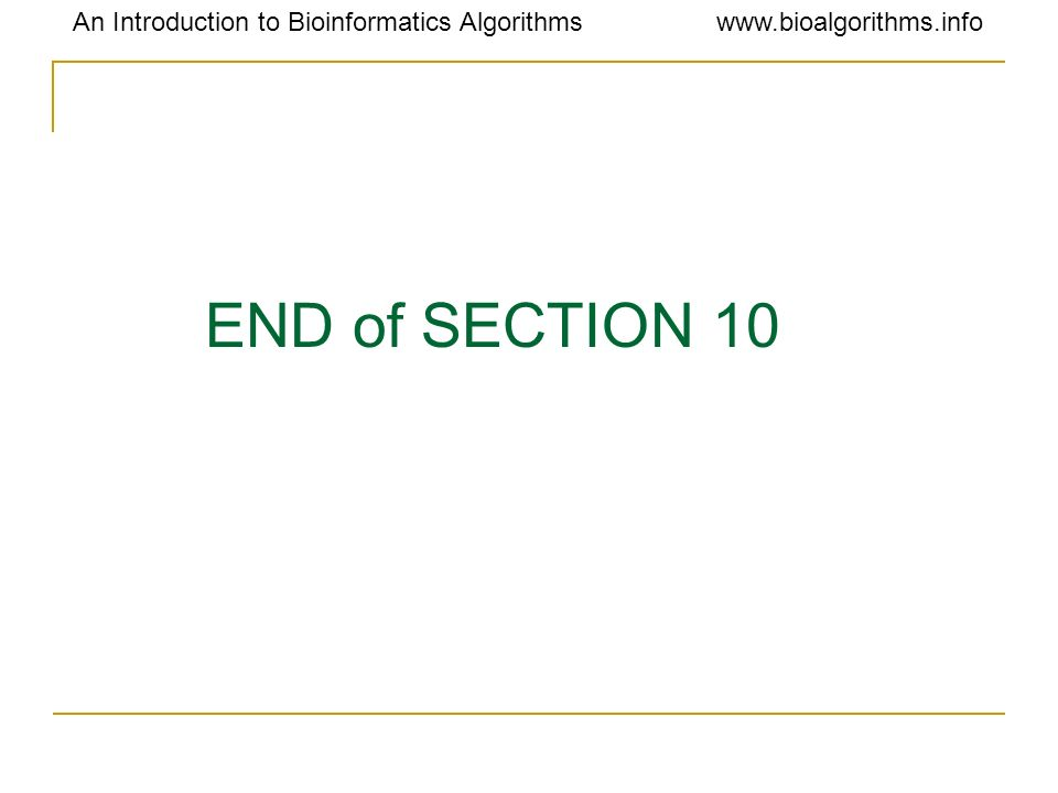 END of SECTION 10