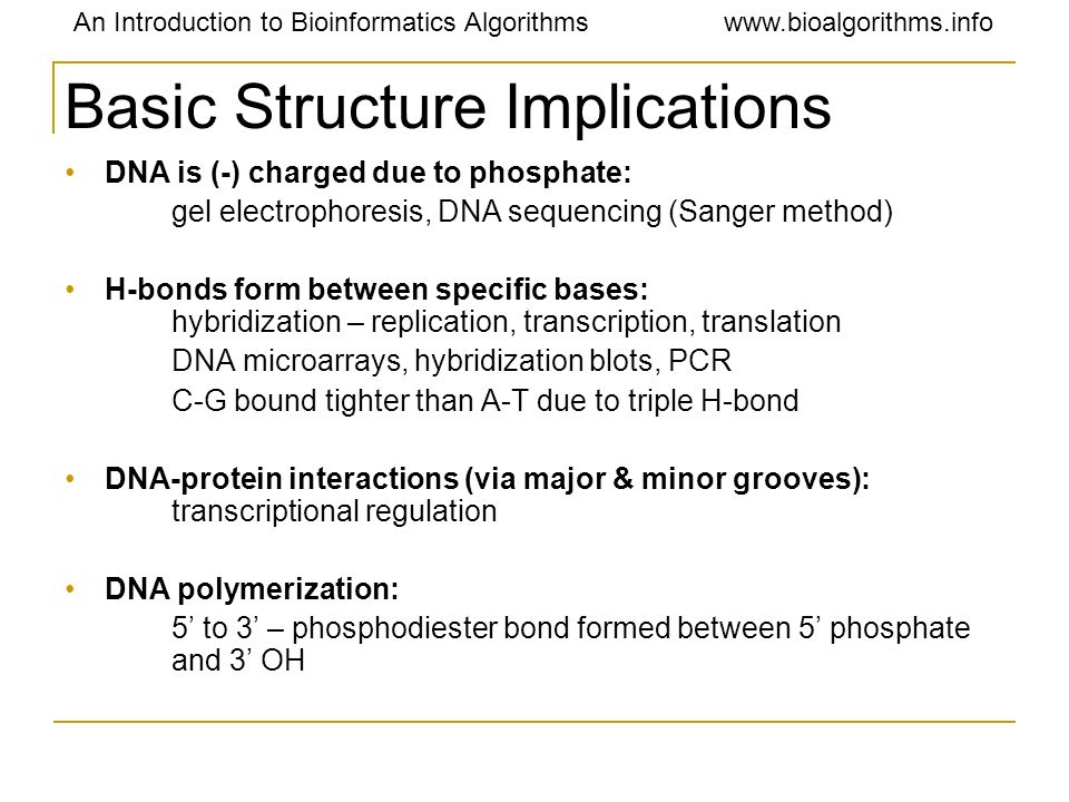 Basic Structure Implications