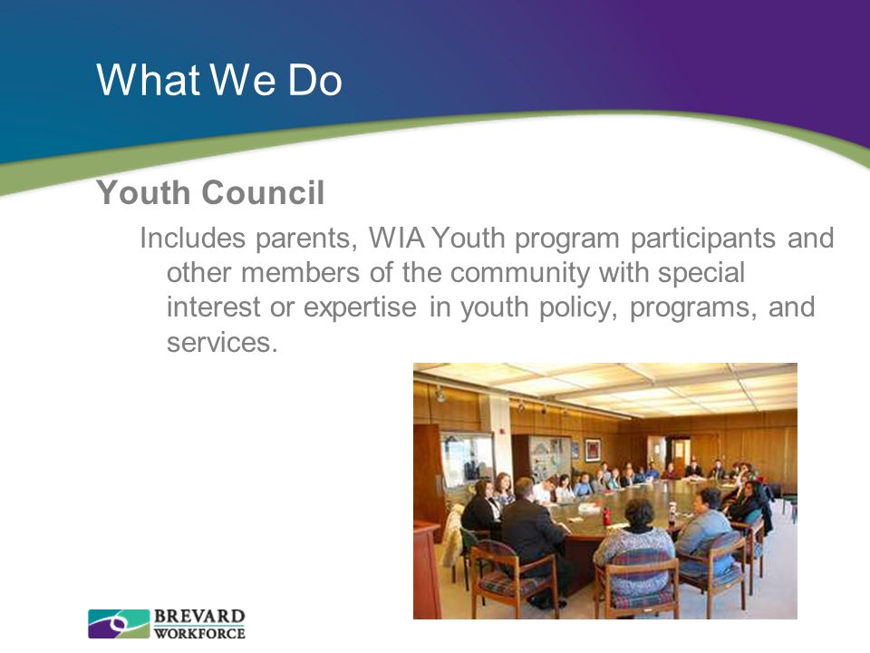 What We Do Youth Council