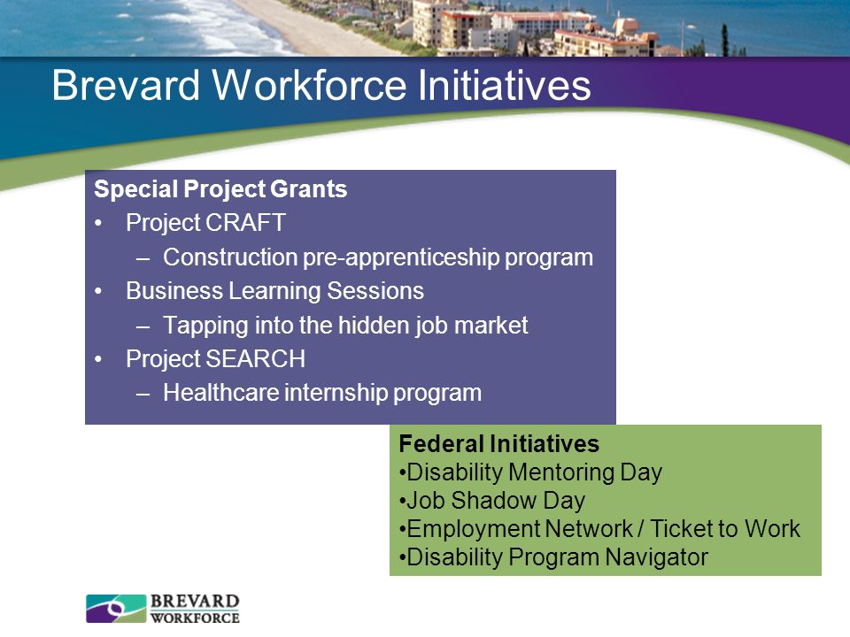 Brevard Workforce Initiatives