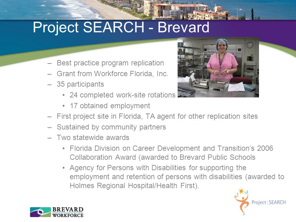 Project SEARCH - Brevard